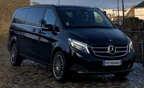 Mercedes Van classe V | VTC Strasbourg Alsace